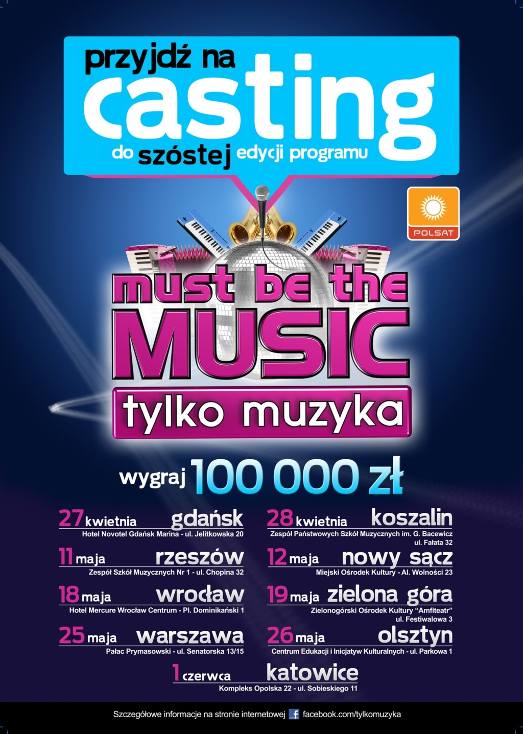 Castingi do Must be the Music 6